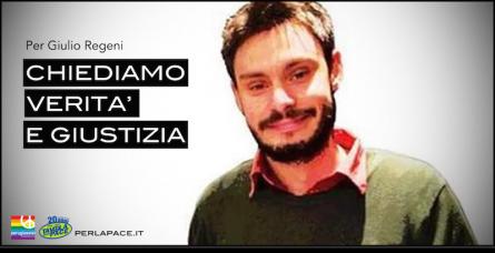 Verita e giustizia per Giulio Regeni