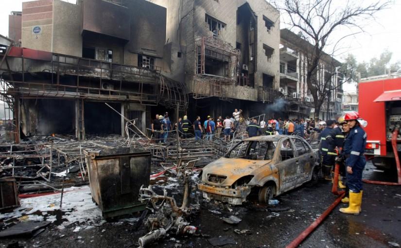 Baghdad attentato
